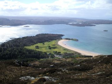 Information for tourists visiting the Gairloch area of Wester Ross, Scottish Highlands